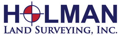 Holman Land Surveying, Inc. Logo